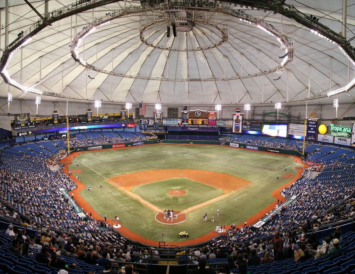 Tropicana Field, Tampa Bay Rays